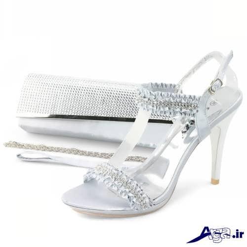 مدل های متنوع کیف و کفش عروس