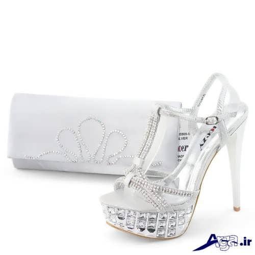 مدل کیف و کفش برای عروس