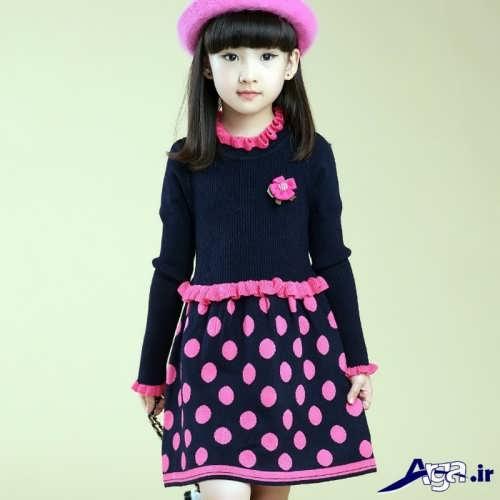 لباس بافتنی با طرح های زیبا و جدید