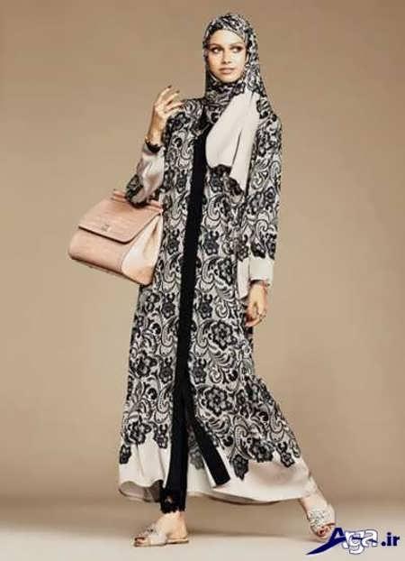 مدل مانتو عربی زیبا و شیک