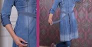 مدل مانتو لی کاغذی زنانه و دخترانه