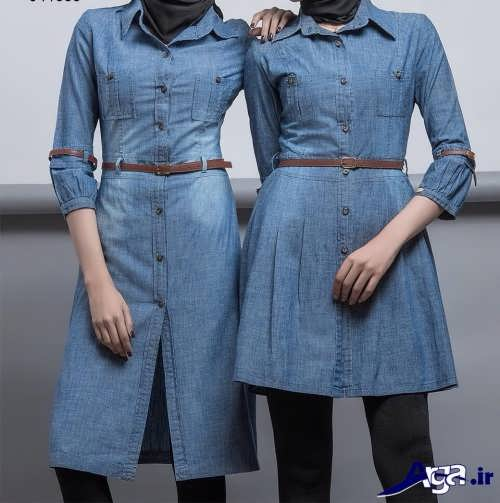 مدل مانتو لی کاغذی جدید و بسیار شیک زنانه و دخترانه