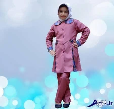 مانتو و شلوار فرم ویژه مدارس ابتدایی