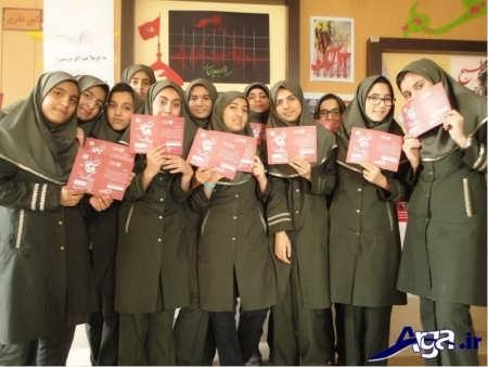 مانتو و شلوار برای مدارس راهنمایی
