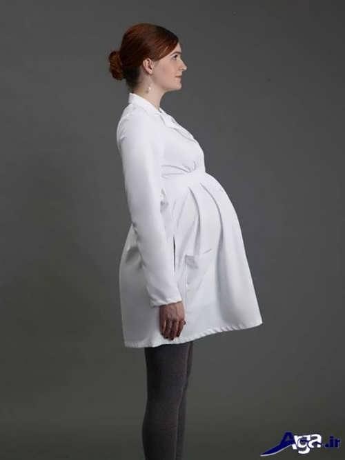 مانتو سفید بارداری