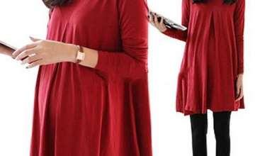 مدل تونیک بارداری زیبا و جدید