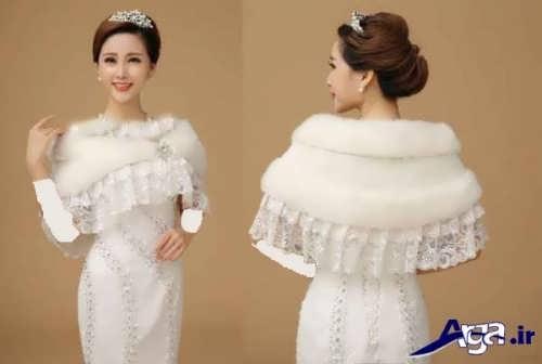 شنل زیبا و متفاوت برای عروس
