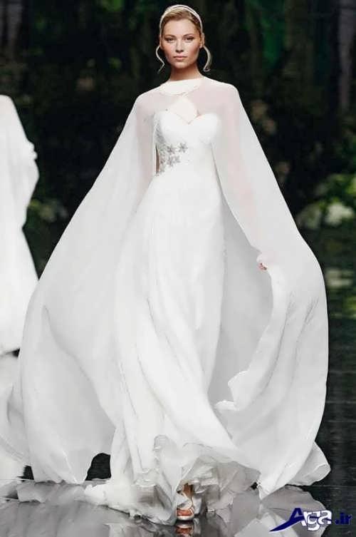 مدل شنل عروس بلند