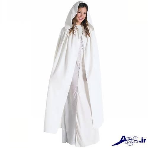 مدل شنل بلند برای عروس