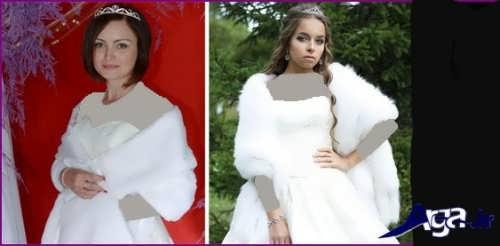 مدل های زیبا شنل عروس