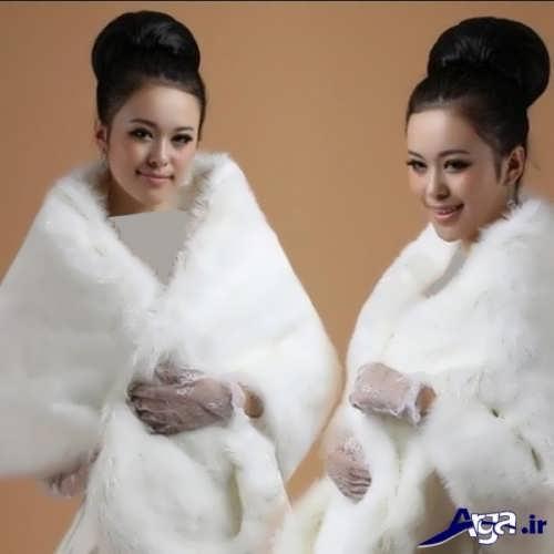 مدل شنل عروس برای فصل زمستان