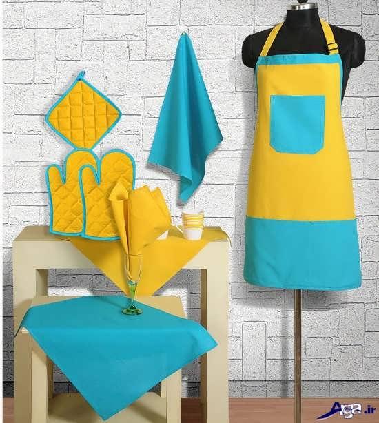 مدل پیشبند و دستکش برای آشپزی