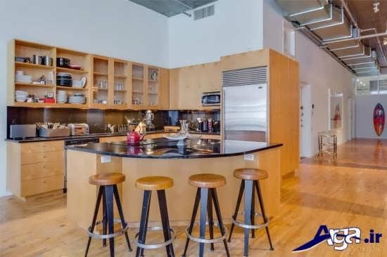 دیزاین دکوراسیون داخلی آشپزخانه