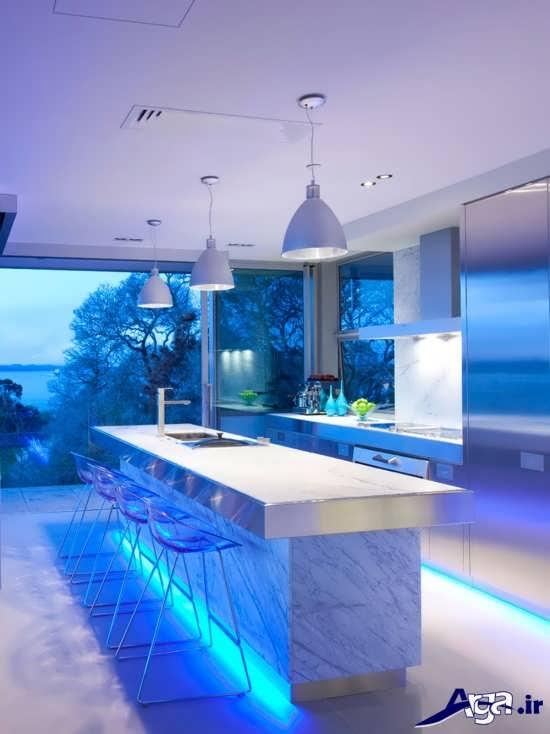 مدل دکوراسیون آشپزخانه مدرن