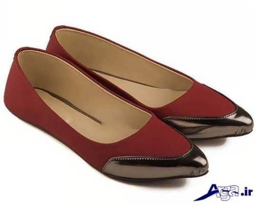 مدل کفش دو رنگ زنانه