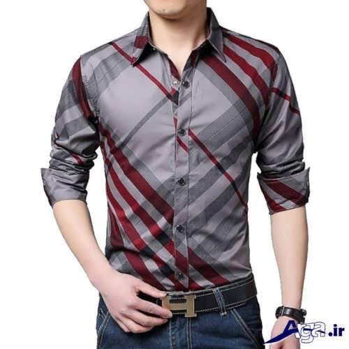 مدل پیراهن چهارخانه مردانه
