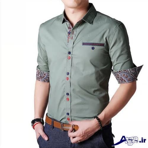 مدل های پیراهن مردانه با طرح های اسپرت و ساده
