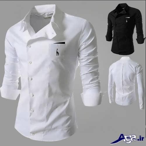 مدل پیراهن ساده و زیبا مردانه
