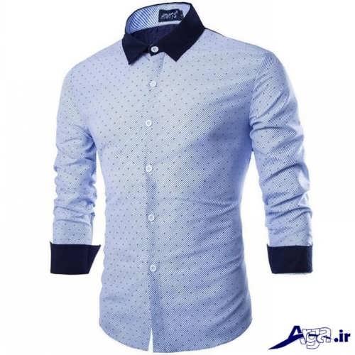 پیراهن مردانه با جدیدترین طرح های مد سال