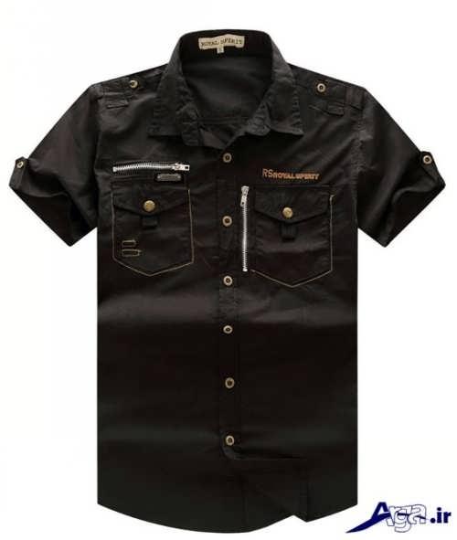 پیراهن مردانه با طرح های اسپرت