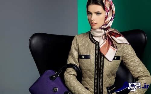 مدل گره روسری
