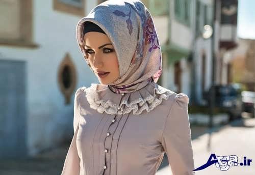 انواع روش های جدید و متفاوت برای بستن روسری