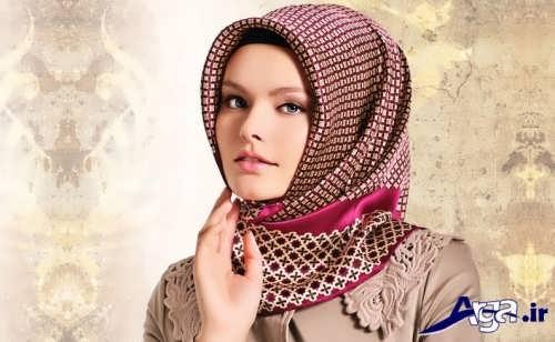 انواع روش های جدید و زیبا برای بستن روسری