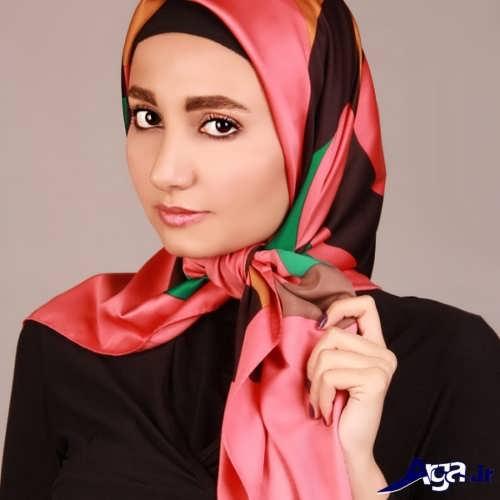 مدل گره روسری زیبا