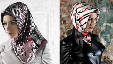 مدل گره زدن روسری با روش های متفاوت و جدید