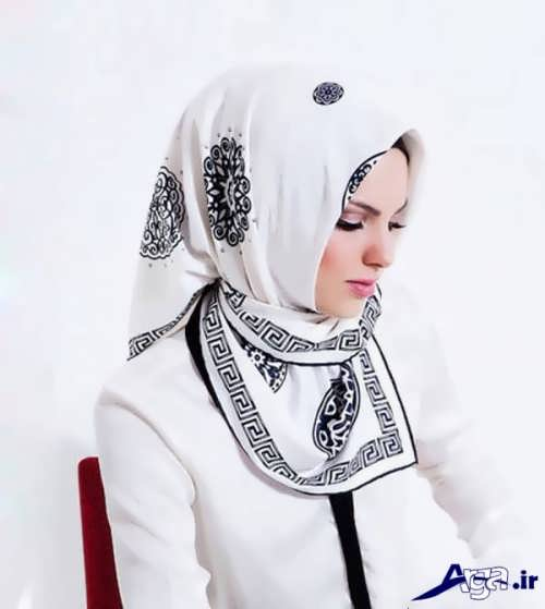 روش هایی برای بستن روسری