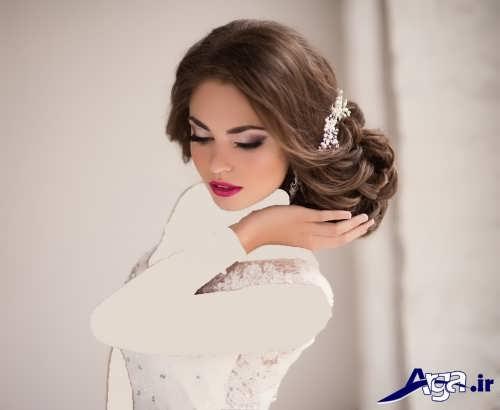 مدل آرایش زیبا برای عروس