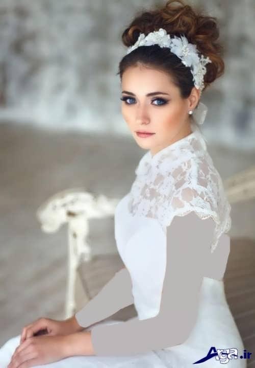 مدل آرایش جدید عروس زیبا و شیک