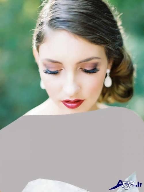 مدل های جذاب و متفاوت آرایش عروس