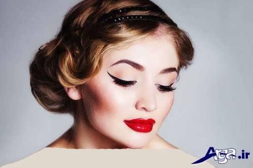 مدل آرایش زیبا و جذاب برای عروس