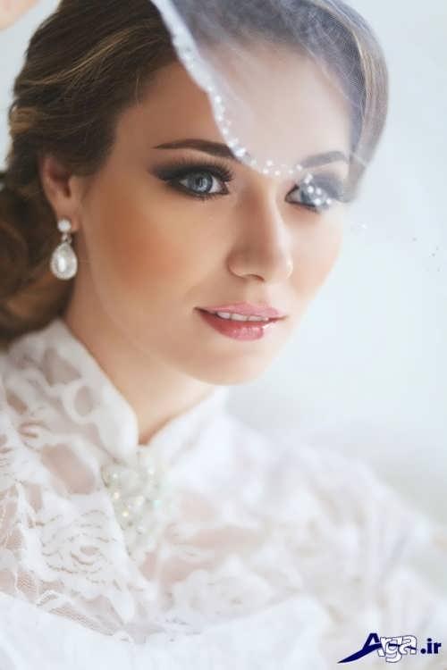 مدل آرایش لایت عروس