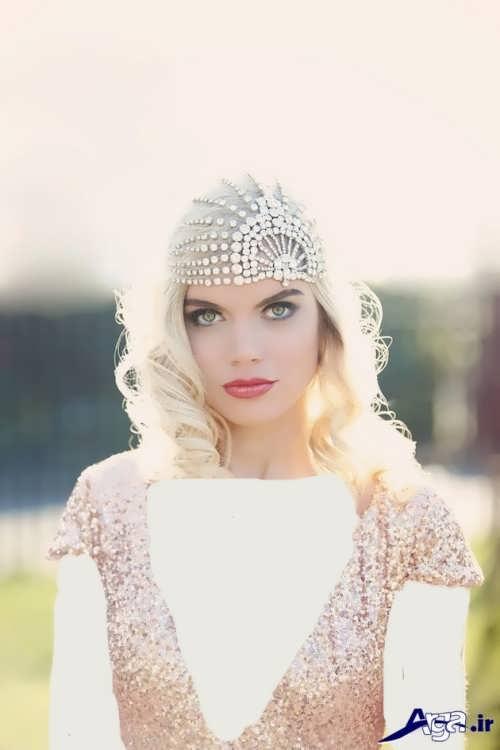 مدل آرایش ملایم برای عروس