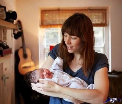 مراقبت از نوزاد در روز اول