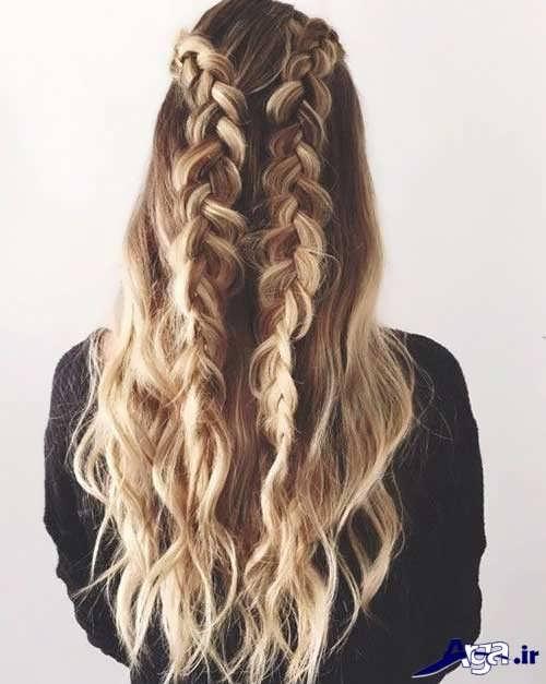 انواع مدل موهای دخترانه