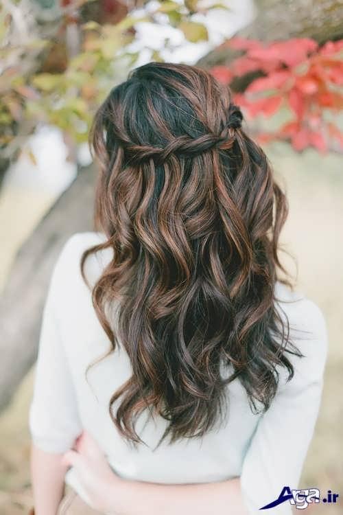 انواع مدل موهای باز