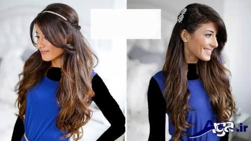 مدل موی باز دخترانه جدید