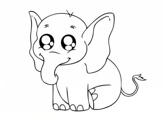 رنگ امیزی فیل
