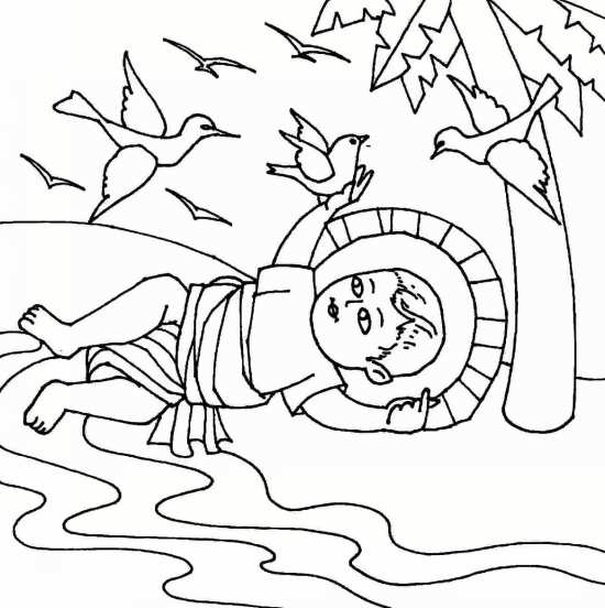 نقاشی کودکی حضرت اسماعیل