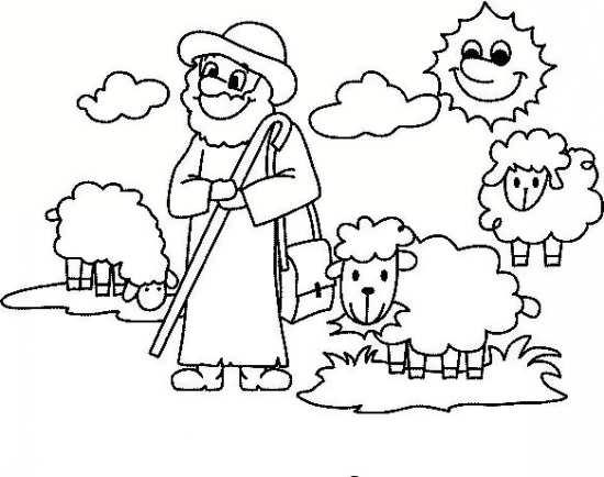 نقاشی های جالب گوسفند