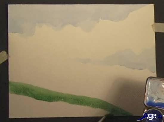 آموزش نقاشی با آبرنگ مبتدی