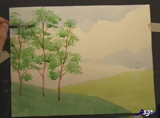 آموزش جدید نقاشی با آبرنگ