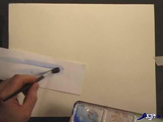 آموزش مبتدی نقاشی با آبرنگ