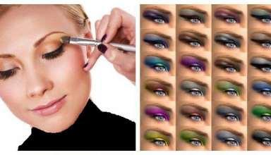عکس آرایش چشم های مختلف