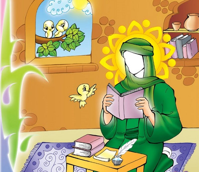 نتیجه تصویری برای زندگی نامه امام زمان کودکانه