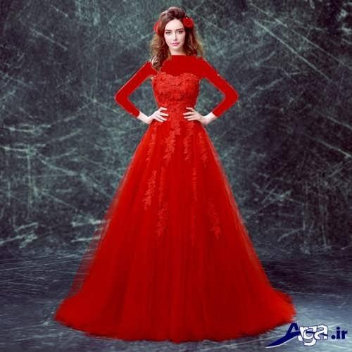 لباس پرنسسی دخترانه بلند