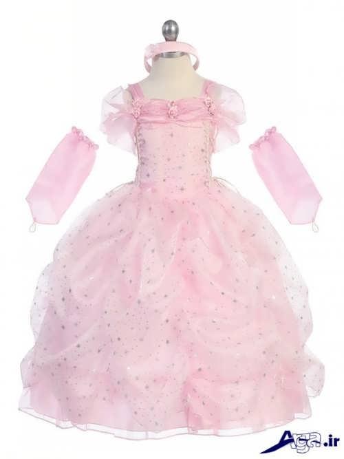 مدل لباس پرنسسی بچه گانه زیبا